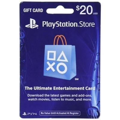 Sony Playstation 3002266 20 Dollar Psn Card Live Fy17