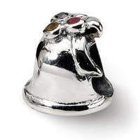 Sterling Silver Reflections Bell Bead (4mm Diameter Hole)