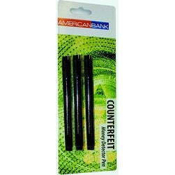American Bank 3 Pack Counterfeit Money Detector Pen