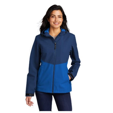 Women's Tech Rain Jacket Wind Resistant, Water Repellant