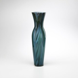 "Cyan Design 2921 23"" Tall Peacock Feather Vase"