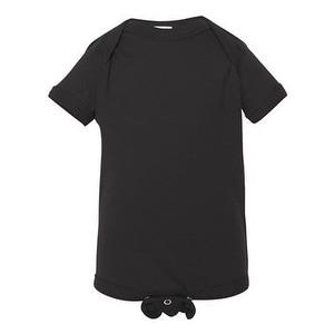 Infant Fine Jersey Bodysuit - Black - 6M