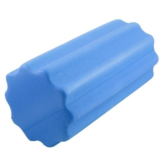 Gym Fitness Yoga Pilates Exercise Trigger Point Muscle Massage Foam Roller Blue