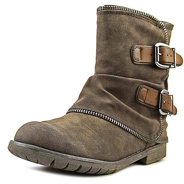 Not Rated Who's Talkin Women Round Toe Synthetic Combat Boot