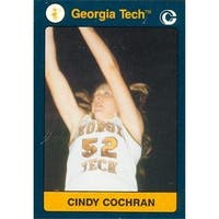 Cindy Cochran Basketball Card Georgia Tech 1991 Collegiate