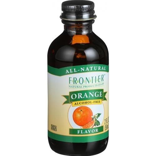 Frontier Herb - Orange Flavoring ( 4 - 2 OZ)