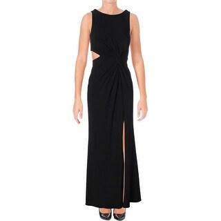 Aqua Womens Formal Dress Cutout Slit