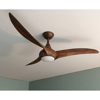 Minkaaire Light Wave 52 3 Blade Indoor Ceiling Fan With Integrated