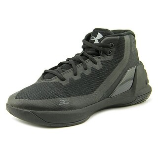 Under Armour PS Curry 3 Boy Blk/Blk/Blk Athletic Shoes