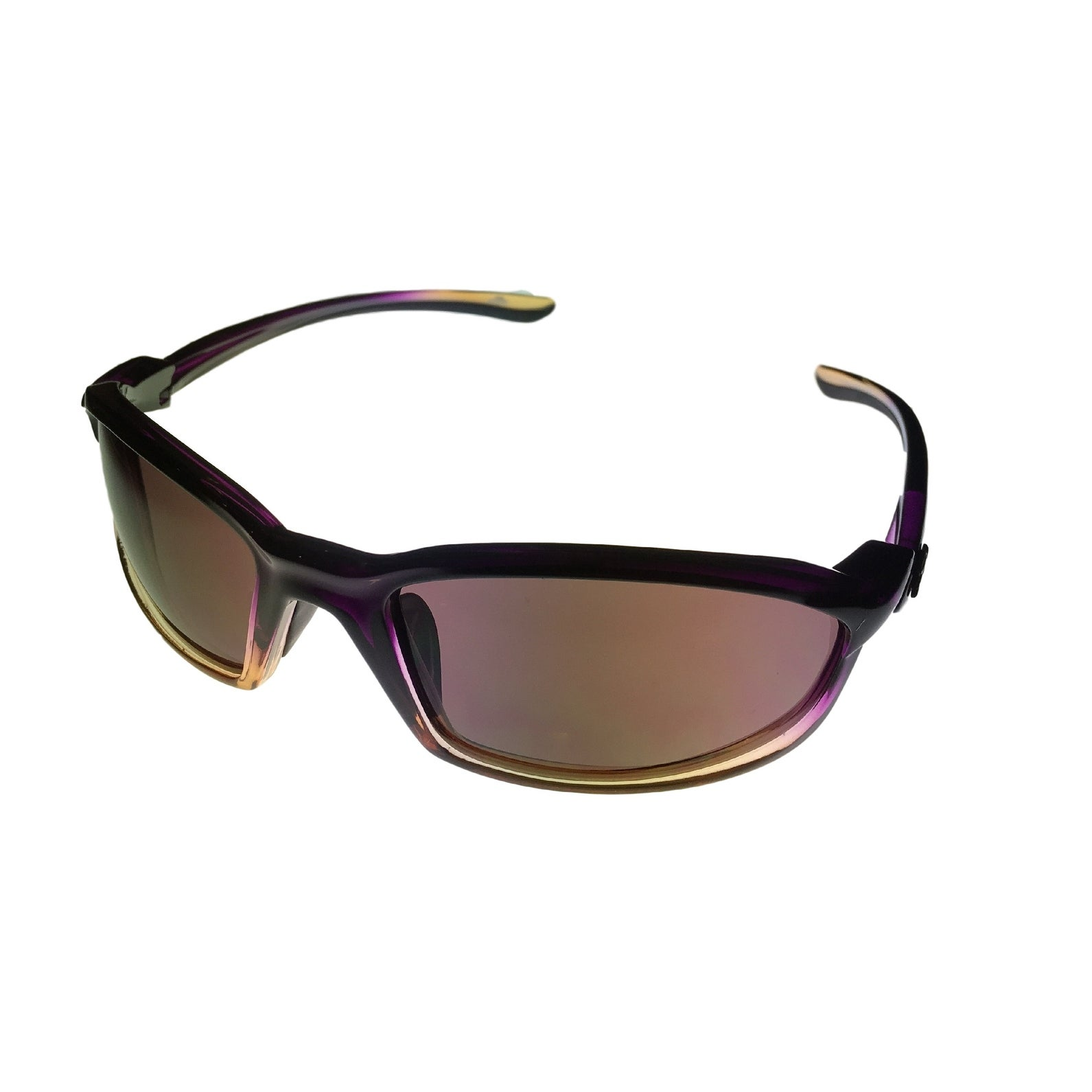 Angel Womens Sunglass Chasity Purple Dawn Plastic Wrap - Medium - Thumbnail 0