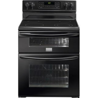 Frigidaire FGEF301DN 30 Inch Wide Freestanding Electric Range with 7 Cu. Feet Double Ovens - White