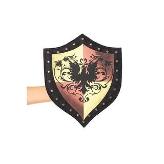 Studded Shield Purse