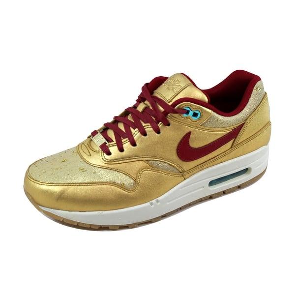 Shop Nike Women S Air Max 1 Bhm Qs Black Ivory Hyper Punch Hyper Grape 652115 700 Size 9 Overstock 21141931
