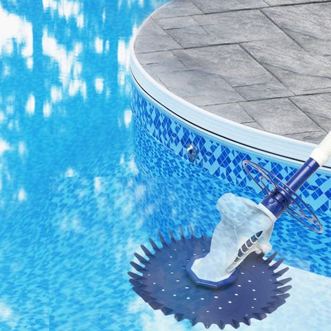 Auto Swimming Pool Cleaner Blue Without Power