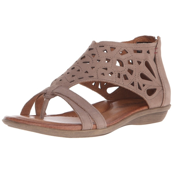 Cobb Hill Womens Jordan Leather Open Toe Casual Strappy Sandals