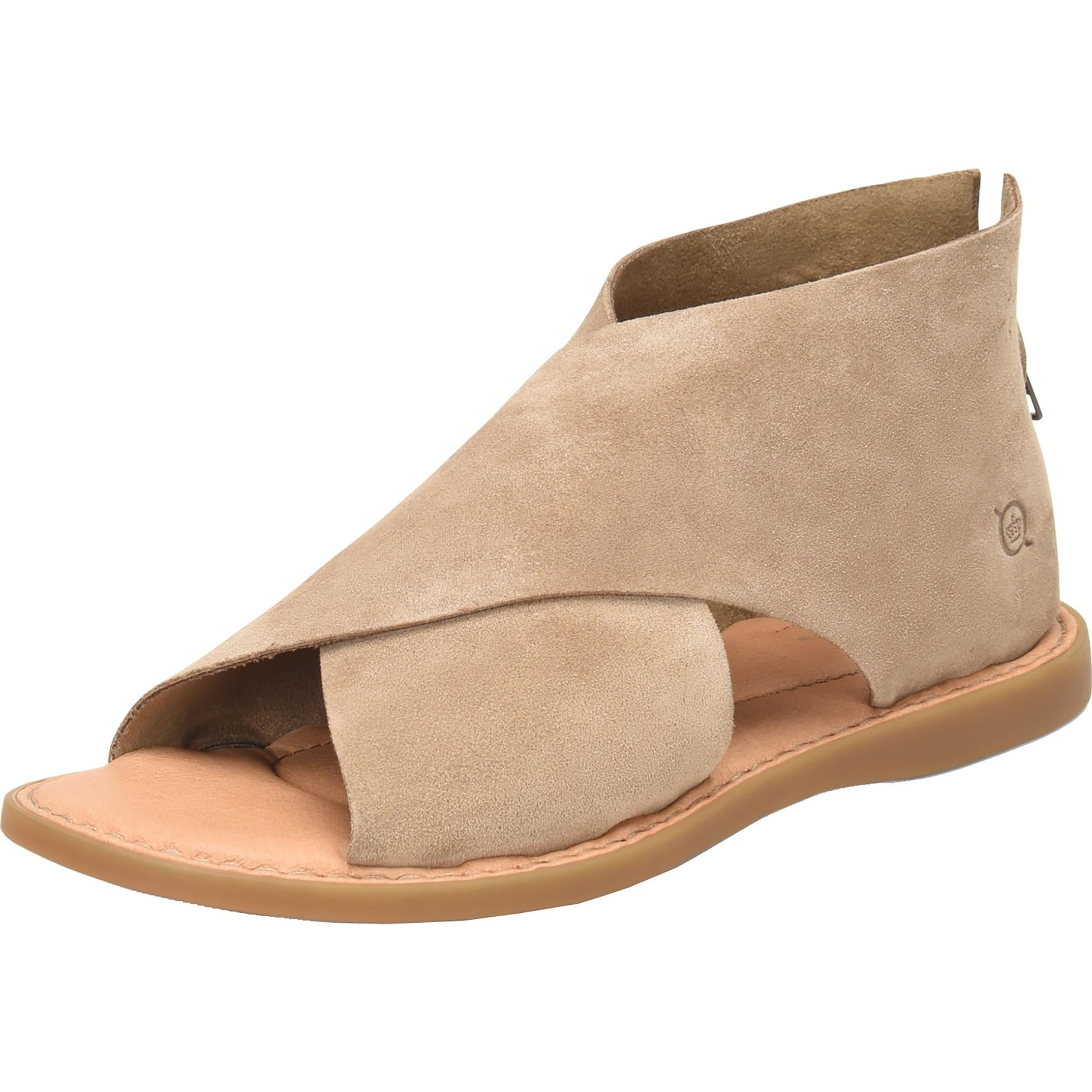 Shop Born Womens Iwa Flat Sandals Suede