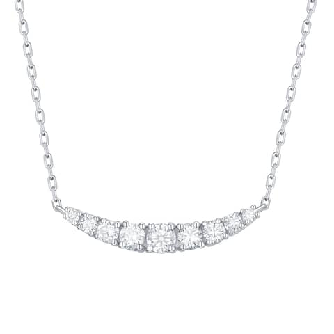 Smiling Rocks Essentials Collection 0.33Ct G-H/VS1 Lab Grown Diamond Necklace
