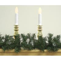 "9' X 6"" Mini Pine Artificial Christmas Garland - Unlit - green"