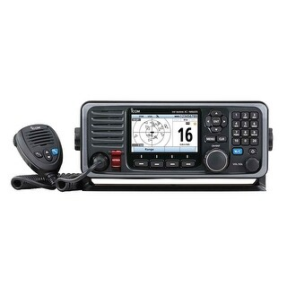 Icom M605 Fixed Mount 25W Vhf With Color Display And Rear - M605 11