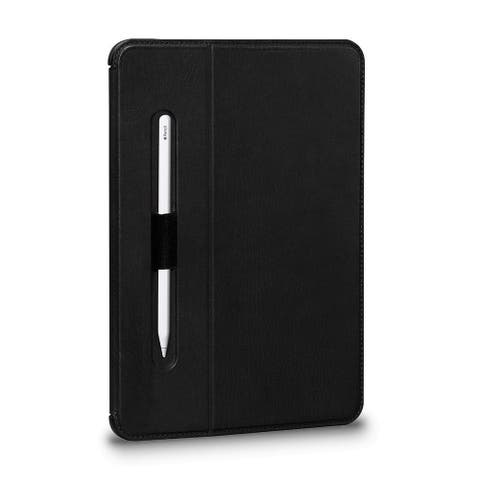 SENA Cases Future Folio Leather Case for iPad Pro 12.9 in. (2018) Black - SHD306NPUS