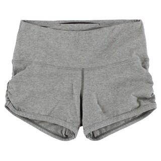 Capezio Womens Studio Biarritz Shorts Grey - XS