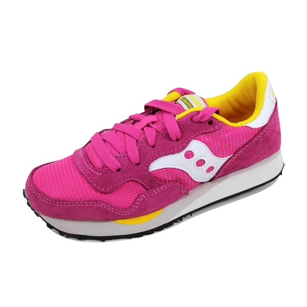 Saucony Women's DXN Trainer Pink/White S60124-25 Size 5