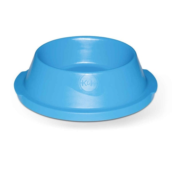"K&H Pet Products Coolin' Pet Bowl 32 oz. Blue 10.5"" x 10.5"" x 3"""