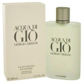 ACQUA DI GIO by Giorgio Armani Eau De Toilette Spray 6.7 oz - Men
