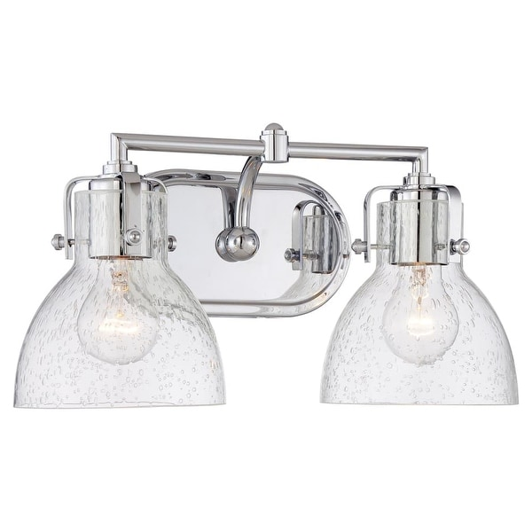 "Minka Lavery 5722 2 Light 15.5"" Width Bathroom Vanity Light from the Seeded Bath Art Collection"