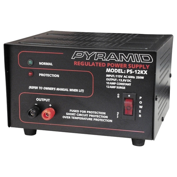 Pyramid ps12kx power supply pyramid 13.8 volt10 amp