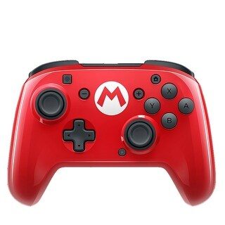 PDP Nintendo Switch Faceoff Mario Bros Wired Pro Controller - RED - 5.4 x 6 x 2.6