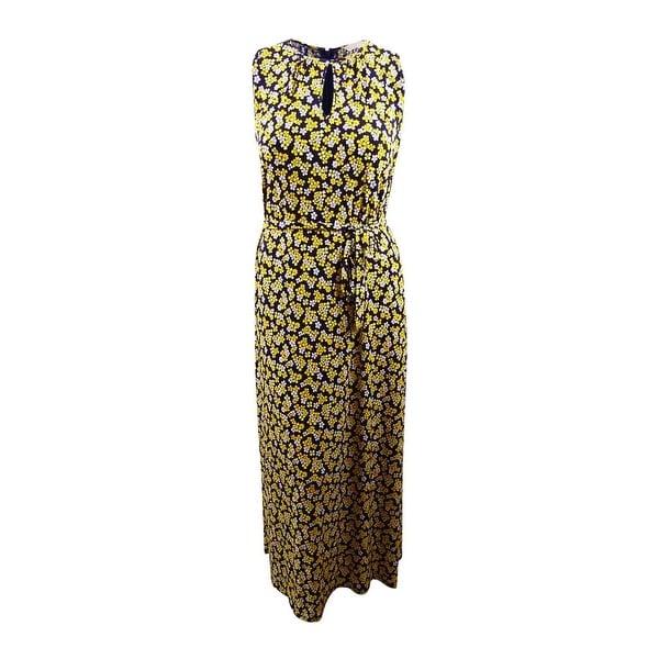 Shop Michael Michael Kors Women\'s Plus Size Floral-Print Maxi Dress ...