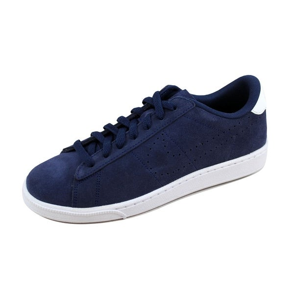 Nike Men's Tennis Classic CS Suede Midnight Navy/Midnight Navy-White 829351-401