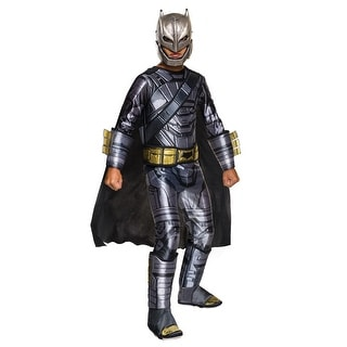 Deluxe Child Dawn of Justice Armored Batman Costume (Option: M)