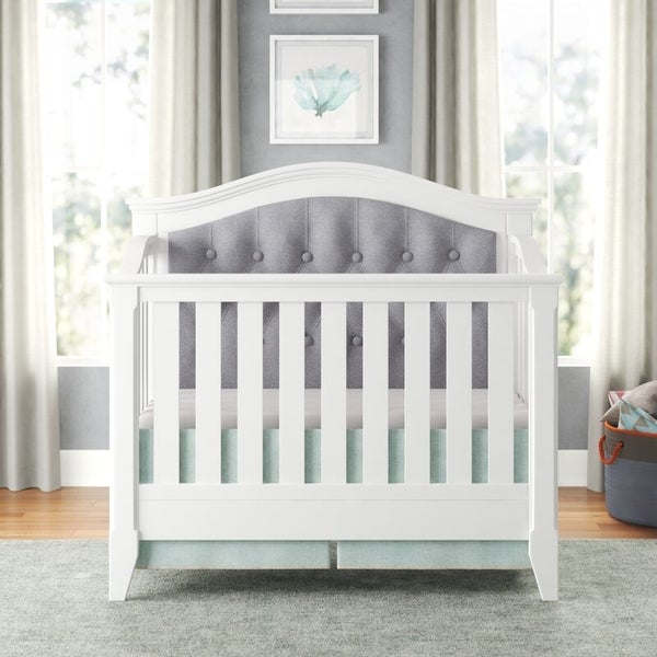 Magnolia Upholstered 4-in-1 Convertible Crib. Opens flyout.