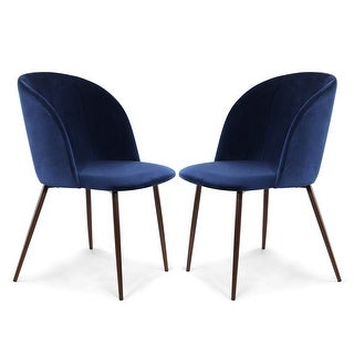 Link to EdgeMod Kantwell Velvet Dining Chair (Set of 2) Similar Items in Dining Room & Bar Furniture