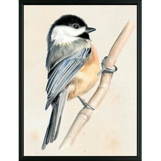 Easy Art Prints Jennifer Paxton Parker's 'Little Bird on Branch II' Premium Canvas Art