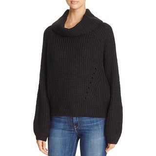 Elan Womens Casual Top Knit Solid