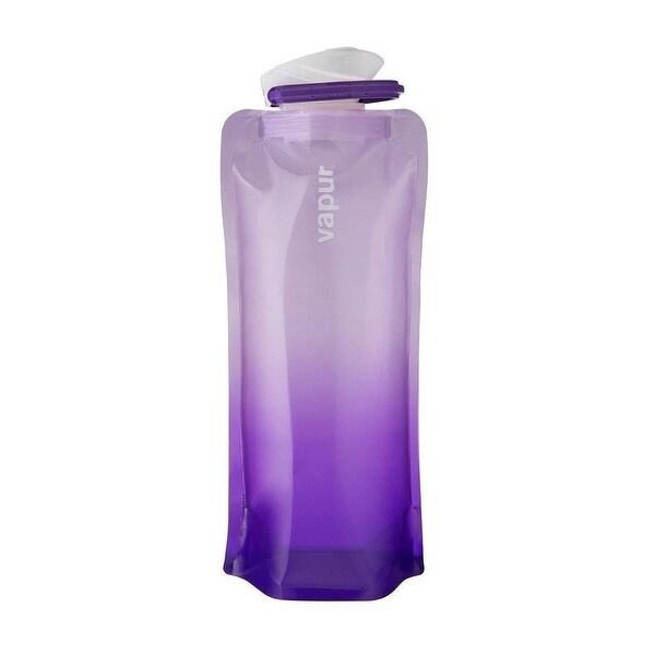5ca3e02c8d Vapur Gradient Foldable Flexible BPA Free Water Bottle with Carabiner,  Lanender, 0.7L