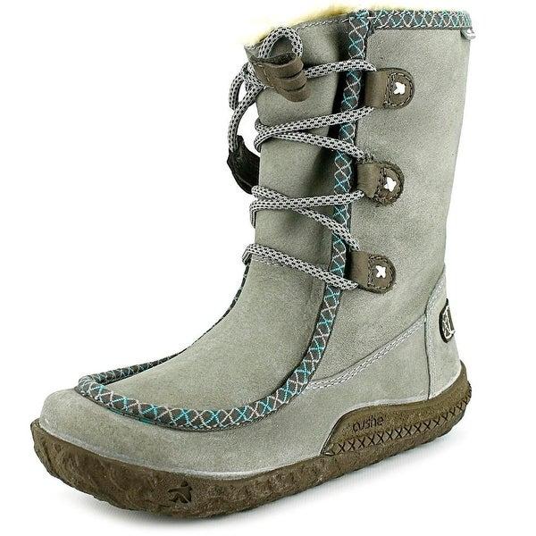 Cushe Clare Waterproof Women  Round Toe Suede  Winter Boot