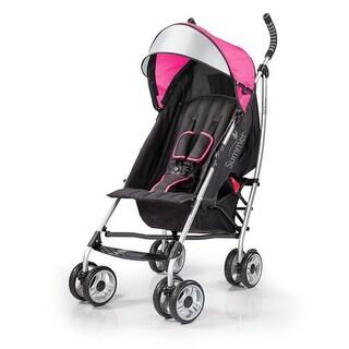 Summer Infant 3D lite Convenience Stroller-Hibiscus Pinnk Baby Stroller