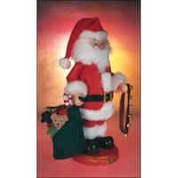 "13"" Zims Heirloom Collectibles Santa Claus Christmas Nutcracker"