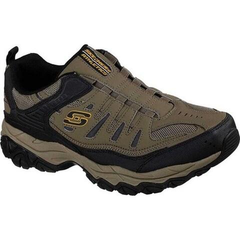 Skechers Men's After Burn M. Fit Slip-On Walking Shoe Pebble