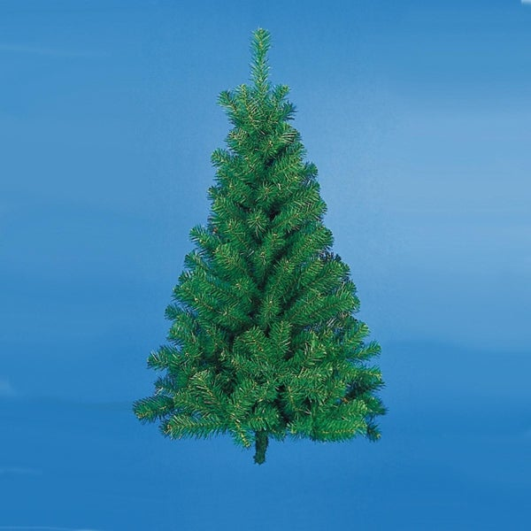 3' Norway Pine Artificial Half Wall Christmas Tree - Unlit - Green