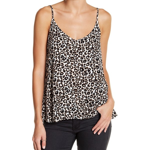 Shop Elodie Beige Black Womens Size XL Animal Print Sleeveless Tank Top -  Free Shipping On Orders Over  45 - Overstock - 22361024 7fadae17e