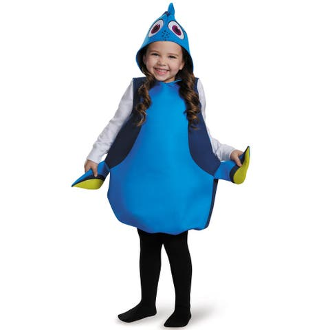 Disguise Dory Classic Child Costume - Blue/Yellow - One Size Fits Most