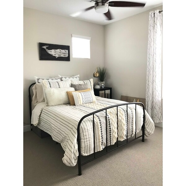 Shop Lauren Taylor White Goose Feather Duvet Free Shipping Today