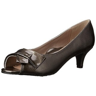 Soft Style Womens Aubrey Peep-Toe Heels Patent Dress