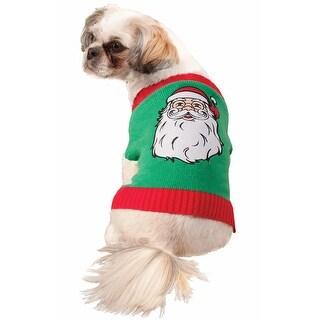 Forum Novelties Santa Sweater Pet Costume (M)