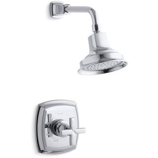 Kohler K-TS16234-3  Margaux Rite-Temp Single Handle Pressure Balanced Shower with Rain Shower Head